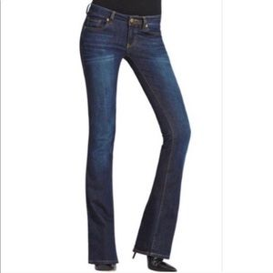 Cabi 916L Galaxy Wash Slim Bootcut Dark Wash Jeans